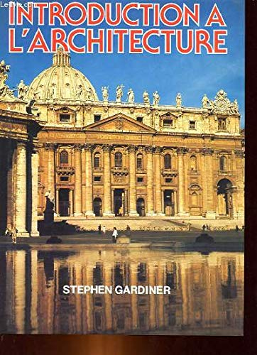 9782724219555: Introduction A L'Architecture