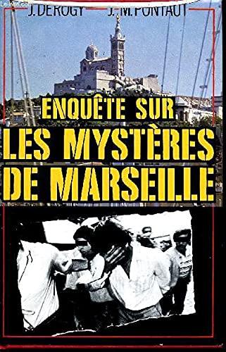 9782724222265: Enqu�te sur les myst�res de Marseille