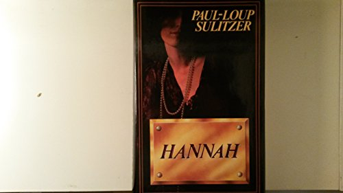 9782724227222: Hannah