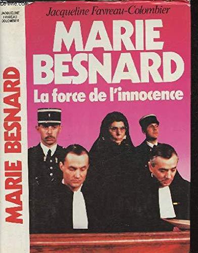Marie Besnard: Jacqueline Favreau-Colombier