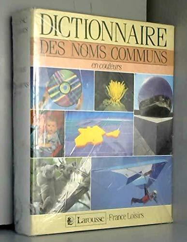 9782724230512: Dictionnaire des noms communs en couleurs