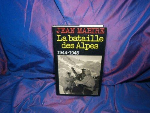 9782724234626: La bataille des Alpes