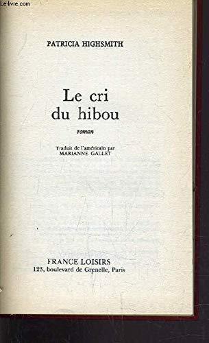 9782724236255: Le Cri du hibou
