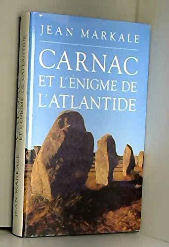9782724240085: Carnac et l'énigme de l'Atlantide