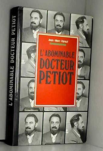 9782724251135: L'abominable docteur petiot