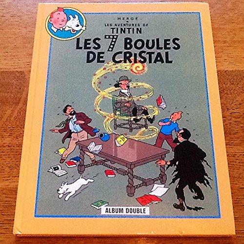 9782724259254: Les Aventures de Tintin : Les 7 Boules de Cristal suive de Le Temple du Soleil , Album Double,