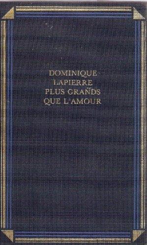 9782724260830: Plus Grands Que L'amour