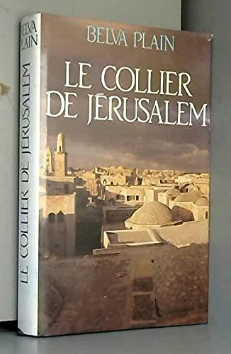 9782724265736: Le collier de Jérusalem