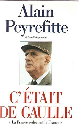 9782724289367: C'�tait de Gaulle