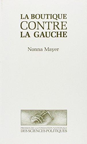 La boutique contre la gauche (French Edition): Mayer, Nonna