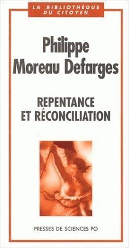9782724607635: Repentance et réconciliation (La bibliothèque du citoyen) (French Edition)