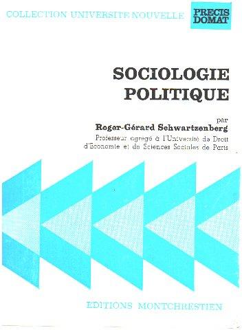 9782724609059: Sociologie politique