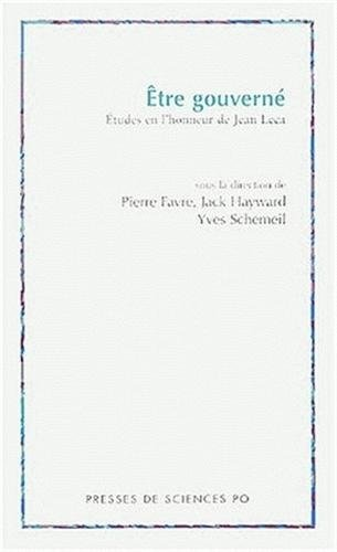 Etre gouverne (French Edition): Pierre Favre