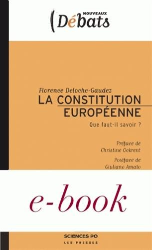 La Constitution européenne (French Edition) (2724609506) by Giuliano Amato