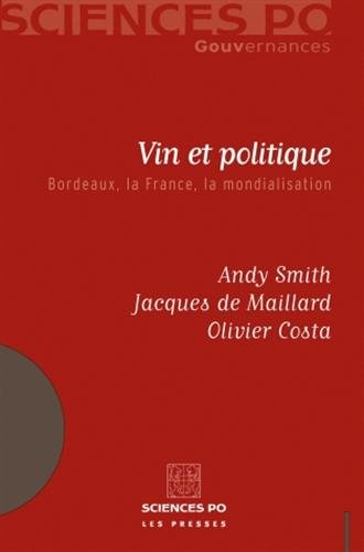 9782724609752: vin et politique