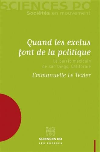 QUAND LES EXCLUS FONT DE LA POLITIQUE: LE TEXIER EMMANUELLE