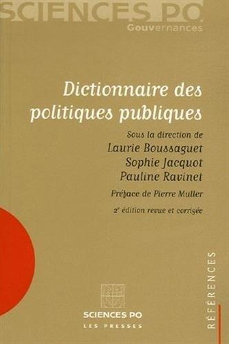 9782724609998: Dictionnaire des politiques publiques