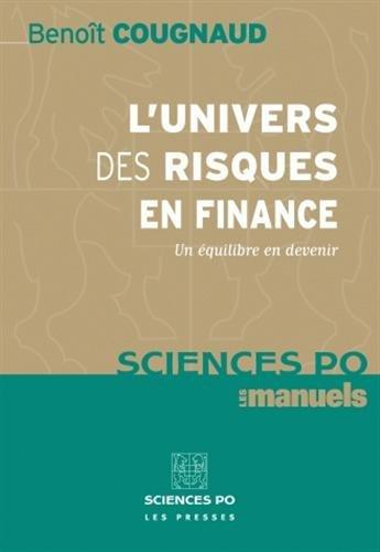 L'univers des risques en finance (French Edition): Benoît Cougnaud