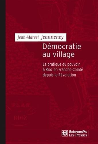 Democratie au village (French Edition): Jean-Marcel Jeanneney