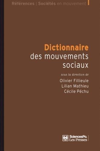 9782724611267: Dictionnaire des mouvements sociaux