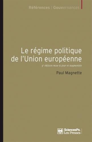 9782724611335: Le r�gime politique de l'Union europ�enne