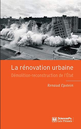 La rénovation urbaine: Renaud Epstein