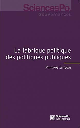 9782724614169: La fabrique des politiques publiques