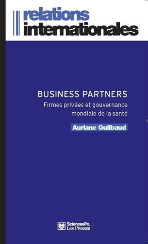 BUSINESS PARTNERS: GUILBAUD AURIANE