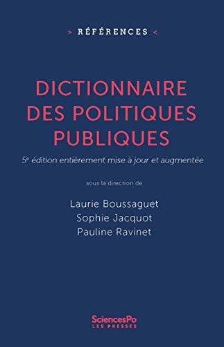 9782724625110: Dictionnaire des politiques publiques