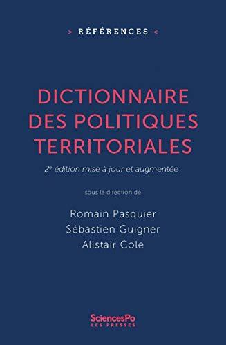 9782724626001: Dictionnaire des Politiques Territoriale