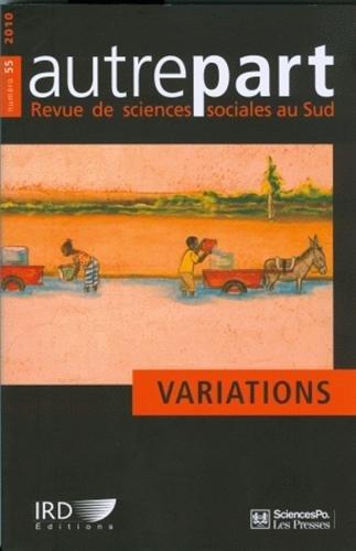Autrepart, N° 55/2010 (French Edition): Marc-Antoine Pérouse de Mon...