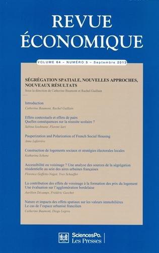 Revue economique t.64: Sciences po