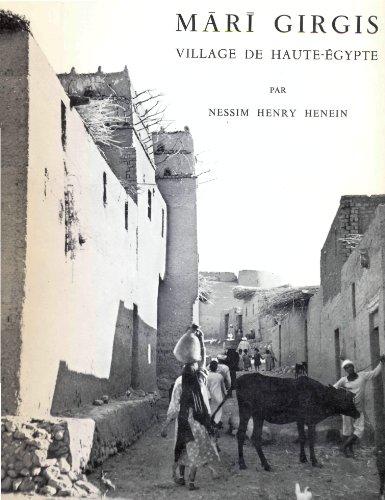 9782724700596: Mārī Girgis, village de Haute-Egypte (Bibliothèque d'étude) (French Edition)
