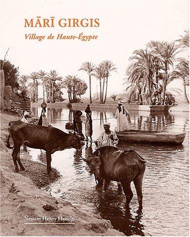 9782724703108: Mari girgis village de haute egypte