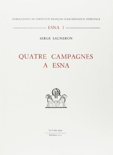 Quatre campagnes a esna (9782724703566) by [???]
