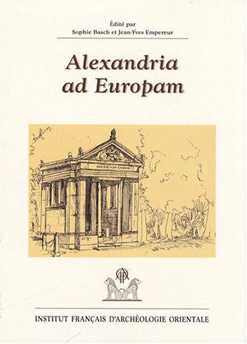 alexandria ad europam: IFAO