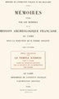 Le Temple d'Edfou 3 (French Edition): Chassinat Emile