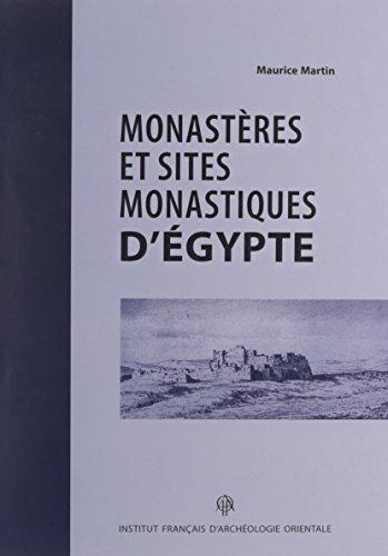 9782724706611: Monast�res et sites monastiques d'Egypte
