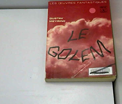 9782725600833: Le Golem