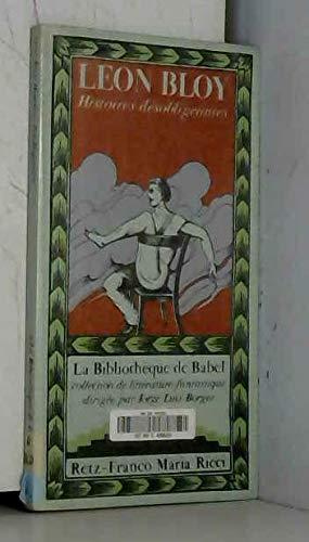 9782725603315: Histoires désobligeantes (La Bibliothèque de Babel)
