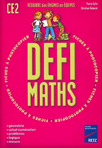 9782725614779: Fiches Ressources: Defimaths Ce2 (French Edition)