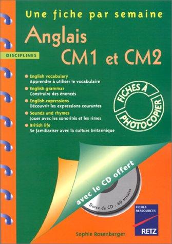 9782725619538: Anglais CM1-CM2. 36 fiches à photocopier