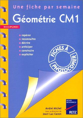 9782725619736: G�om�trie CM1. 36 fiches � photocopier
