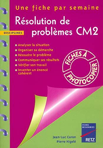 9782725619934: R�solution de probl�mes CM2