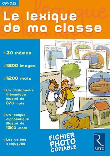 9782725621685: Le lexique de ma classe CP-CE1