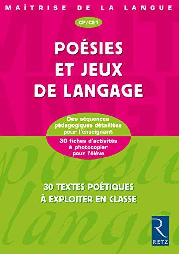 9782725622378: Poésies et jeux de langage CP/CE1