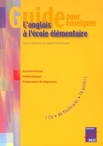 9782725622675: Guide pour enseigner l'anglais � l'�cole �l�mentaire (+ CD)