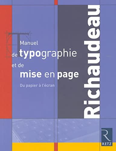 Manuel de typographie et de mise en page (French Edition): Olivier Binisti