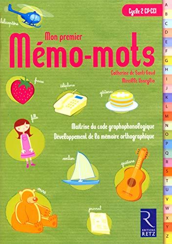 9782725625386: Mon premier Mémo-mots Cycle 2 : Pack 6 exemplaires