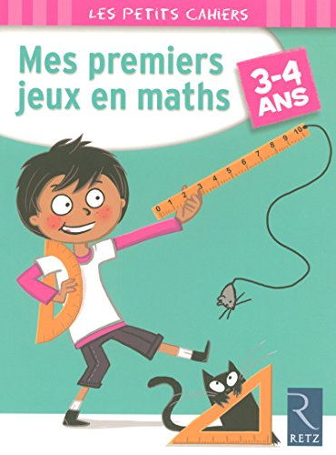 9782725626192: Mes premiers jeux en maths : 3-4 ans (Les petits cahiers)